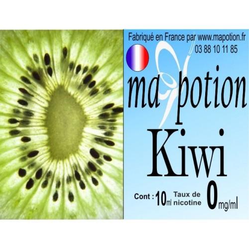 E-Liquide Fruit Kiwi, Eliquide Français, recharge liquide pour cigarette électronique, Ecig