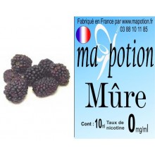 E-Liquide Fruit Mure, Eliquide Français, recharge liquide pour cigarette électronique, Ecig