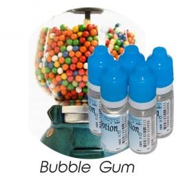 Lot de 5 E-Liquide Bubble gum, Eliquide Français Ma Potion, recharge liquide cigarette électronique. Sans nicotine ni tabac