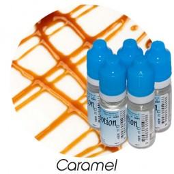 Lot de 5 E-Liquide Caramel, Eliquide Français Ma Potion, recharge liquide cigarette électronique. Sans nicotine ni tabac