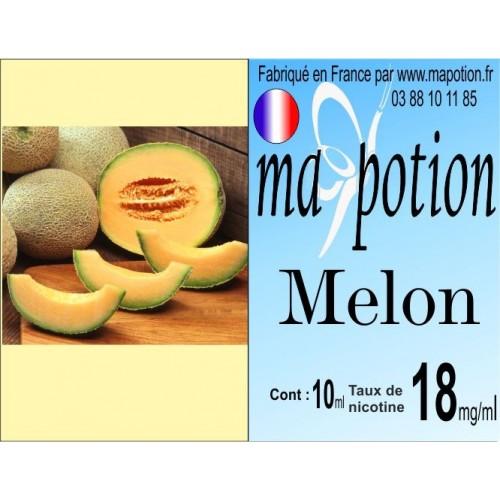 E-Liquide Fruit Melon, Eliquide Français, recharge liquide pour cigarette électronique, Ecig