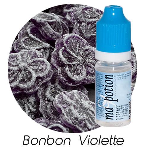 E-Liquide Bonbon Violette, Eliquide Français, recharge liquide pour cigarette électronique, Ecig
