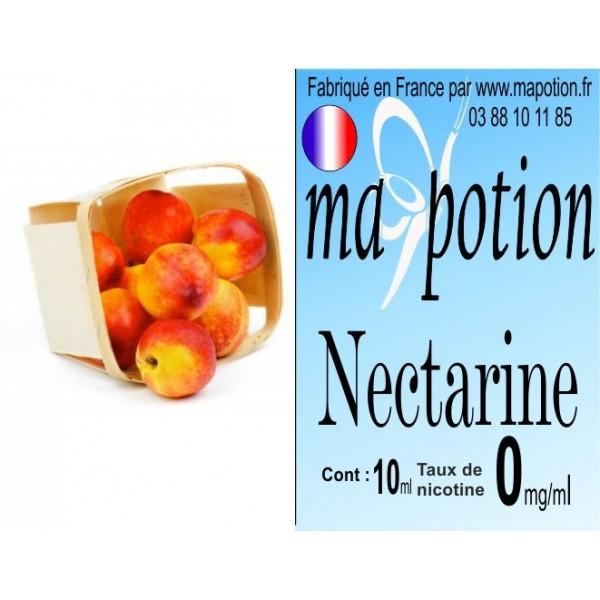 E-Liquide Fruit Nectarine, Eliquide Français, recharge liquide pour cigarette électronique, Ecig