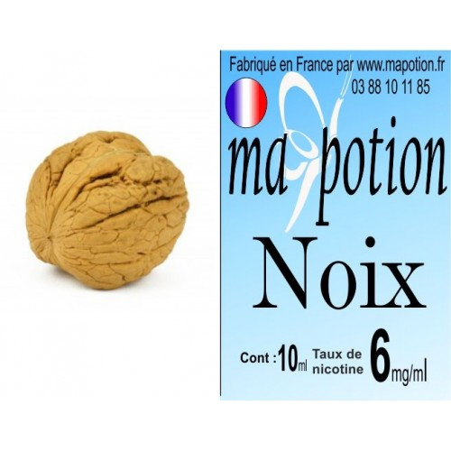 E-Liquide Fruit Noix, Eliquide Français, recharge liquide pour cigarette électronique, Ecig