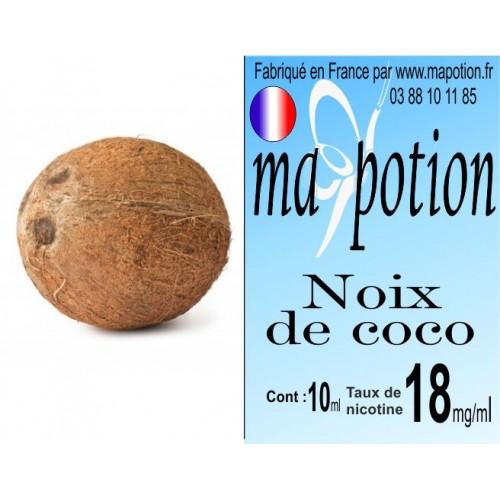 E-Liquide Fruit Noix de coco, Eliquide Français, recharge liquide pour cigarette électronique, Ecig