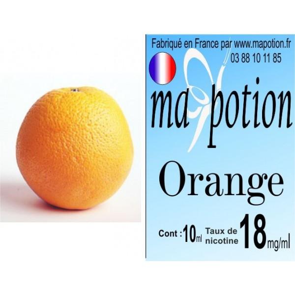 E-Liquide Fruit Orange, Eliquide Français, recharge liquide pour cigarette électronique, Ecig
