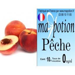 E-Liquide Fruit Pêche, Eliquide Français, recharge liquide pour cigarette électronique, Ecig