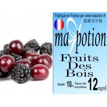 E-Liquide Fruits des Bois, Eliquide Français, recharge liquide pour cigarette électronique, Ecig