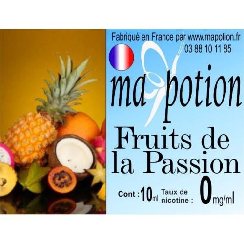 E-Liquide Fruits de la Passion, Eliquide Français, recharge liquide pour cigarette électronique, Ecig