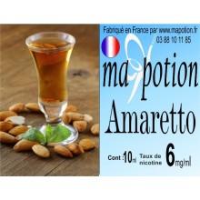 E-Liquide Saveur Amaretto, Eliquide Français, recharge liquide pour cigarette électronique, Ecig