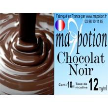 E-Liquide Saveur Chocolat Noir, Eliquide Français, recharge liquide pour cigarette électronique, Ecig