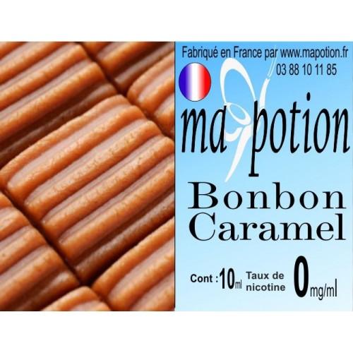 E-Liquide Saveur Bonbon Caramel, Eliquide Français, recharge liquide pour cigarette électronique, Ecig