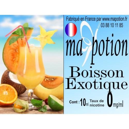 E-Liquide Saveur Boisson exotique, Eliquide Français, recharge liquide pour cigarette électronique, Ecig