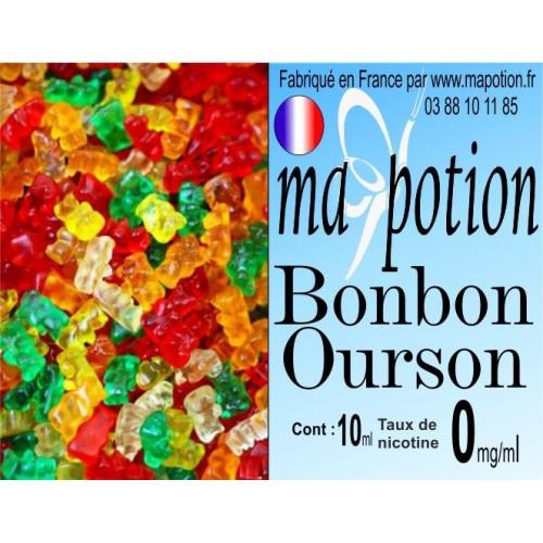 E-Liquide Saveur Bonbon ourson, Eliquide Français, recharge liquide pour cigarette électronique, Ecig