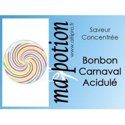 Saveur concentrée Bonbon Carnaval Acidulé pour fabriquer ses Eliquides maison, E-Liquides DIY Sans nicotine ni tabac