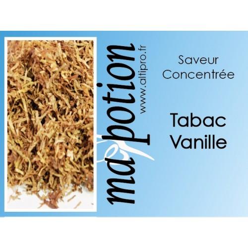 Saveur concentrée TABAC Vanille pour fabriquer ses Eliquides maison, E-Liquides DIY Sans nicotine ni tabac