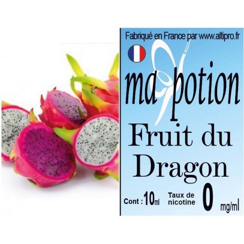 E-Liquide saveur Fruit du Dragon, Eliquide Français, recharge liquide pour cigarette électronique, Ecig