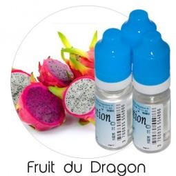 Lot de 3 E-Liquide Fruit du Dragon, Eliquide Français Ma Potion, recharge liquide cigarette électronique, Ecig Sans nicotine ni