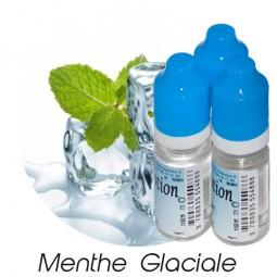 Lot de 3 E-Liquide Menthe Glaciale, Eliquide Français Ma Potion, recharge liquide cigarette électronique, Ecig Sans nicotine ni