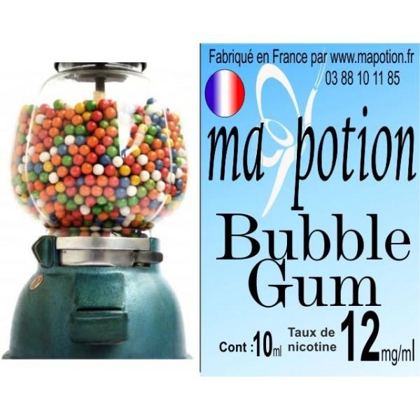 E-Liquide Saveur Bubble gum, Eliquide Français, recharge liquide pour cigarette électronique, Ecig
