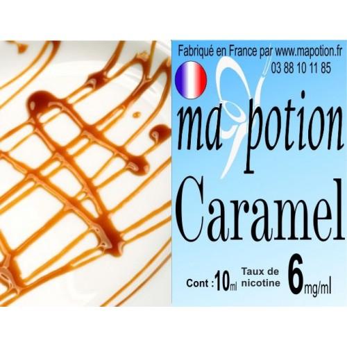 E-Liquide Saveur Caramel, Eliquide Français, recharge liquide pour cigarette électronique, Ecig