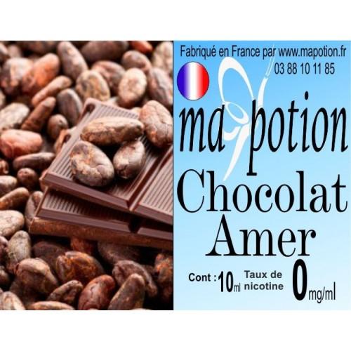 E-Liquide Saveur Chocolat Amer, Eliquide Français, recharge liquide pour cigarette électronique, Ecig