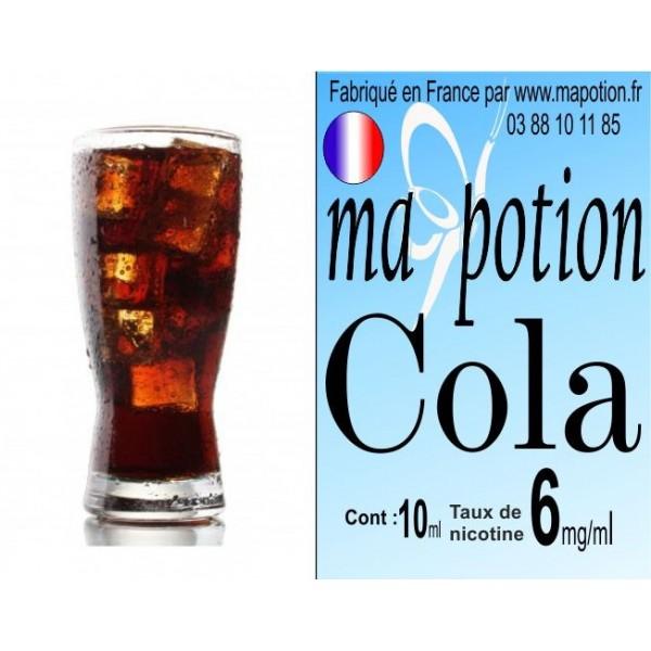 E-Liquide Saveur Cola, Eliquide Français, recharge liquide pour cigarette électronique, Ecig
