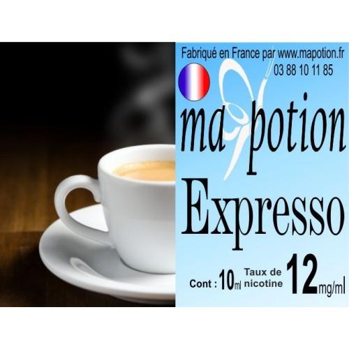 E-Liquide Saveur Expresso, Eliquide Français, recharge liquide pour cigarette électronique, Ecig