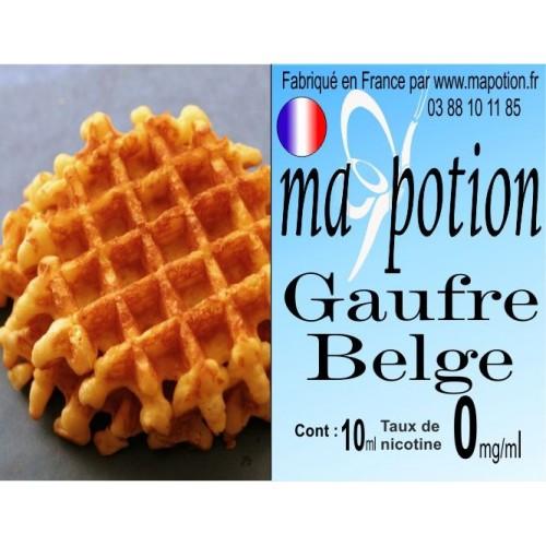 E-Liquide Saveur Gaufre Belge, Eliquide Français, recharge liquide pour cigarette électronique, Ecig