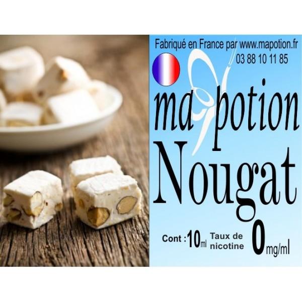 E-Liquide Saveur Nougat, Eliquide Français, recharge liquide pour cigarette électronique, Ecig