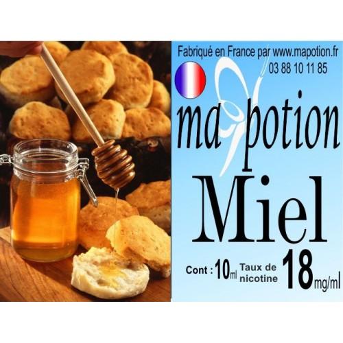 E-Liquide Saveur Miel, Eliquide Français, recharge liquide pour cigarette électronique, Ecig