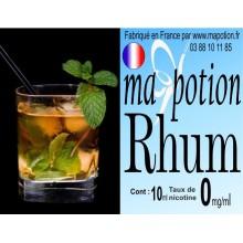 E-Liquide Saveur Rhum, Eliquide Français, recharge liquide pour cigarette électronique, Ecig