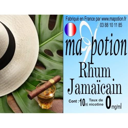 E-Liquide Saveur Rhum Jamaïcain, Eliquide Français, recharge liquide pour cigarette électronique, Ecig