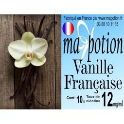 E-Liquide Saveur Vanille Française, Eliquide Français, recharge liquide pour cigarette électronique, Ecig