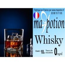 E-Liquide Saveur Whisky, Eliquide Français, recharge liquide pour cigarette électronique, Ecig