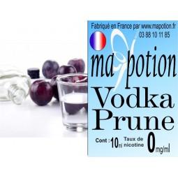 E-Liquide Saveur Vodka Prune, Eliquide Français, recharge liquide pour cigarette électronique, Ecig