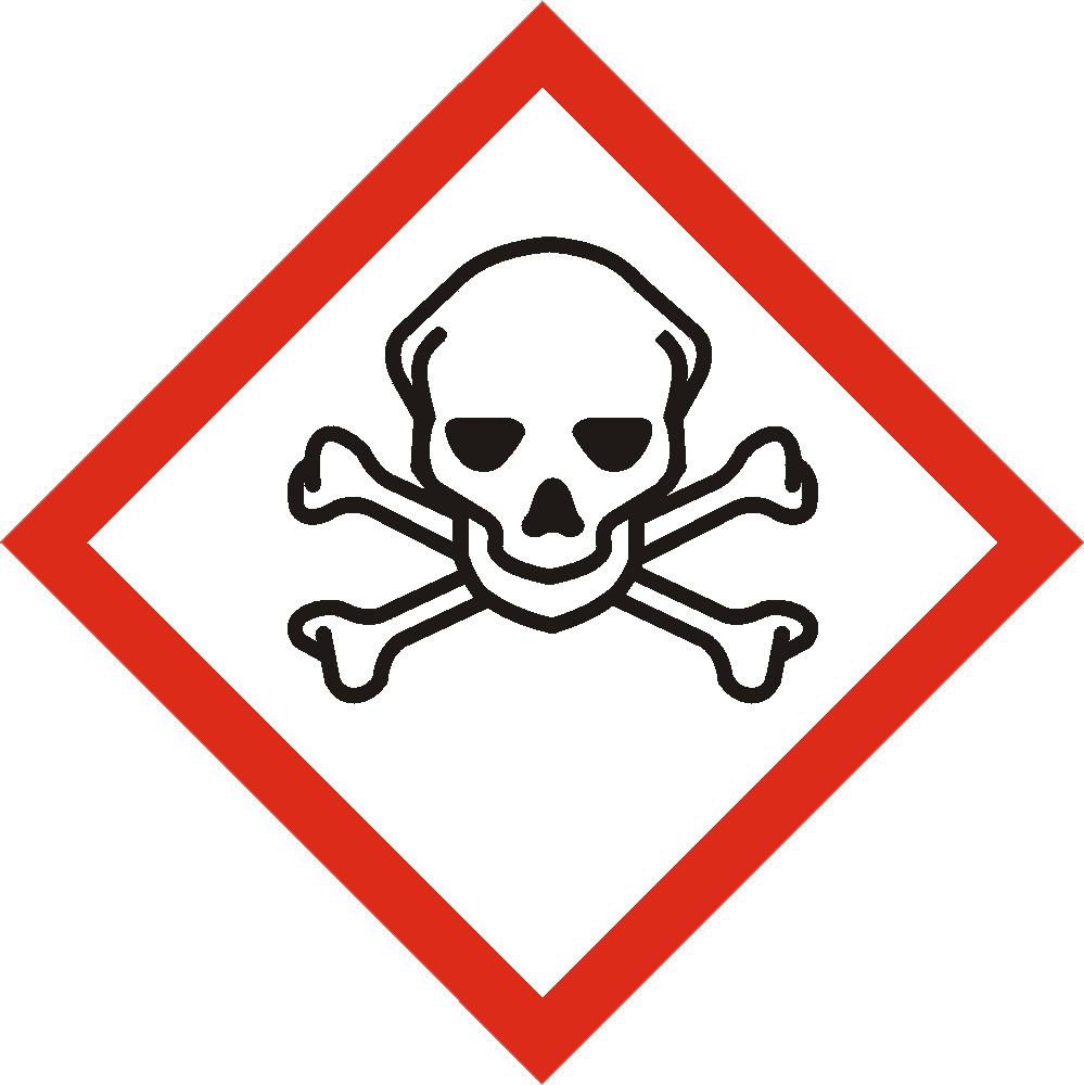 Symbole TOXIQUE SGH 06 CLP 1272/2008